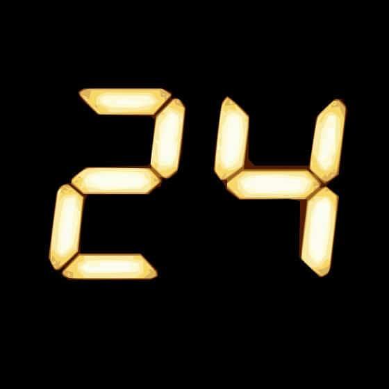 24 TV Show logo